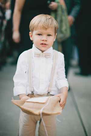 Ring Bearer Style My Wedding